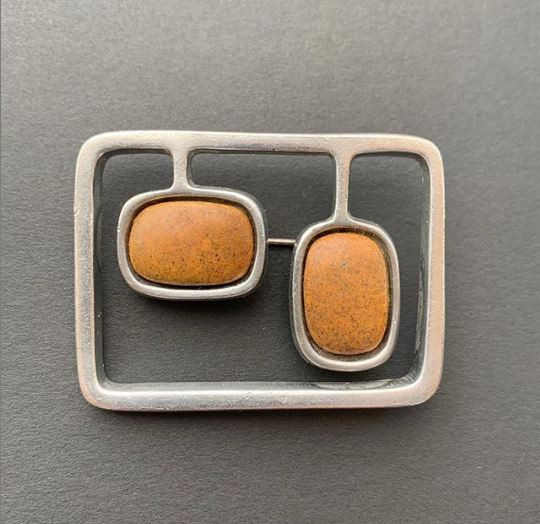 Modernist Brooch